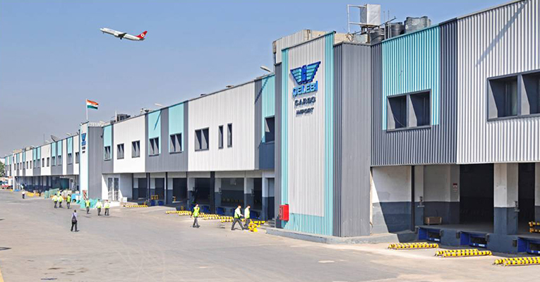 दिल्ली एयर कार्गो इंपोर्ट में जयपुर से आई डीआरआई