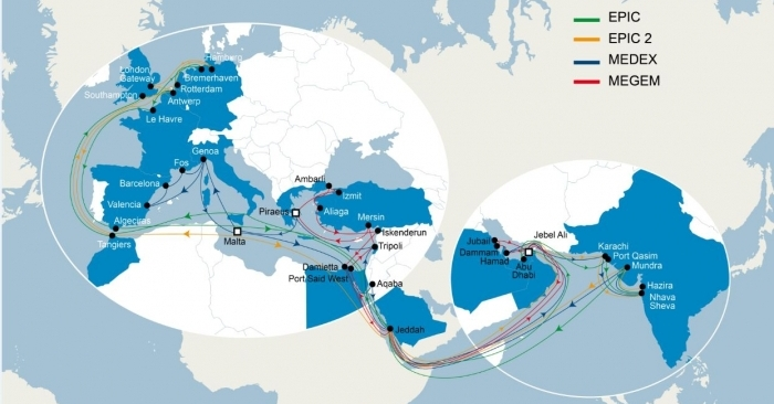 CMA CGM to up presence along Europe-Mediterranean-Middle East, India