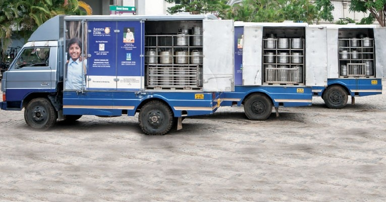 FROM MAGAZINE : Akshaya Patra- Putting a smile on a plate | Logistics